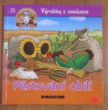 Kniha - výrobky z venkova - pěstování obilí,