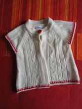 Pletená vesta / vestička / svetr / svetřík, f&f,86