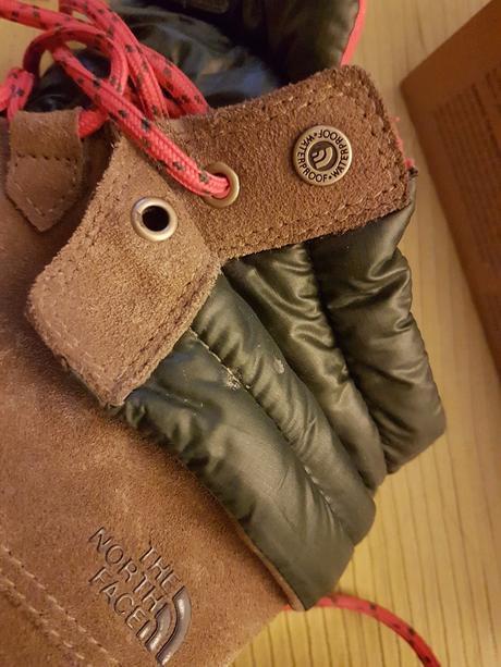Zimní boty the north face w ballard roll-down, 39