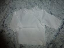 Bílá košilka 68-80, 68