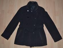 Zimní flaušový kabát s více variantami nošení, 40