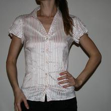 Pruhovaná košile vel 38, atmosphere,s