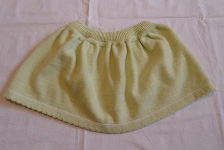 F124dívčí pletená sukně vel. 104, 104