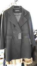 Černý vlněný kabát zara xs, zara,xs