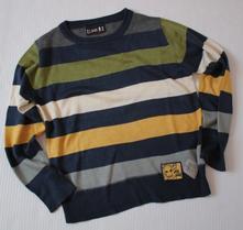 Pěkný svetřík -lime-vel.116 (5-6let), 116