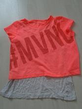 Sportovní tričko se všitým tílkem vel. 146-152, c&a,146