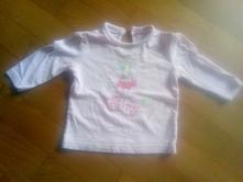 Bavlněné tričko s dlouhým rukávem, 74