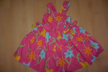 Šaty růžové květované 98, young dimension,98