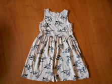 Ptáčkové šaty, h&m,128