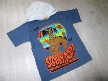 Tričko s kapucí scooby-doo, 104
