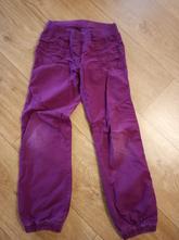 Plátěné kalhoty podšité bavlnou vel.128, c&a,128