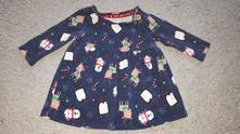 Vánoční šaty/tunika, f&f,62