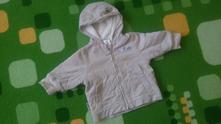 Manžestrová bunda s kožíškem, 68