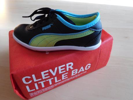 Kožené dívčí boty puma vel. 28, puma,28