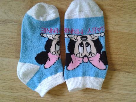 Kotníčkové ponožky minie, 21