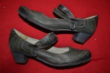 Kožené dámské boty, 40