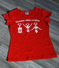 Bavlněné triko pro vinařku, l - xxl