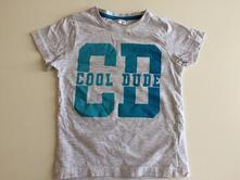 Bavlněné tričko s potiskem kr. r., pepco,98