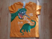 Triko s dinosaurem c&a, velikost 110, c&a,110