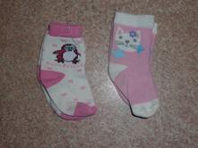 Ponožky dívčí vel. 19, 19