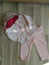 Růžová tepláková souprava, lupilu,74