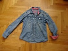 Lehká džínová košile, dívčí, 146vel., pepperts,146