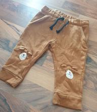 Kalhoty s medvídky vel.74, h&m,74