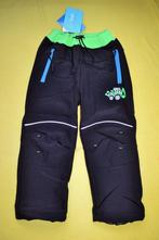 Kalhoty softshellové s fleece,na 2,5-5l. s bagrem, kugo,92 / 104