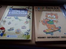 2x krásná kniha pro předškoláky a první třídu,