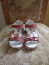 Dívčí kožené sandálky, lasocki,26