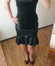 Koženková sukně reserved, reserved,s