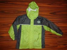 Krásná zelená šusťáková bunda - podšitá, alive,128
