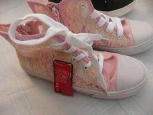 Tenisky boty plátěnky krajkové 32 stélka 21 cm, 32