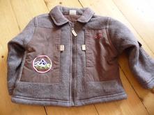 Flaušový kabátek, baby,86