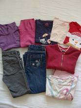 Podzimní balík oblečení na holku 5-6 let (110-116),