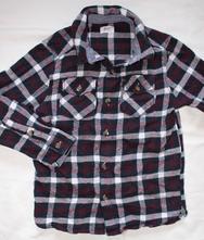 Ax51. flanelová košile 5-6 let, f&f,116