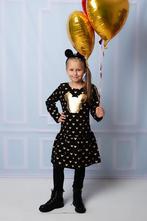 Šaty šatičky zlatá minnie, 80 - 134