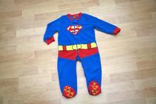 Fleesový overal superman, vel. 86, disney,86
