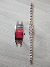 Náramkové hodinky s kamínky + dárek,