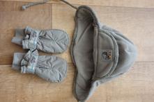 Zimní dětská čepice a rukavice, sterntaler,<50