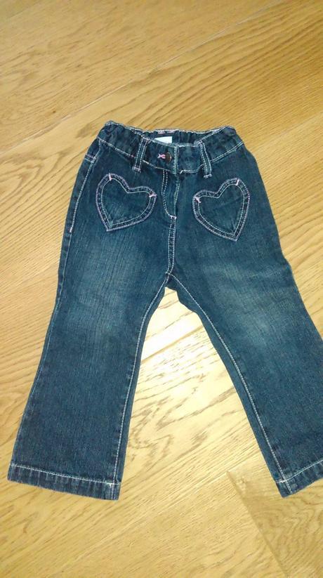 Dívčí džíny, c&a,92