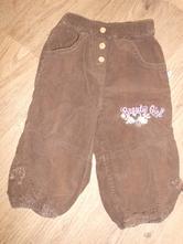 Manžestrové kalhoty, kik,80