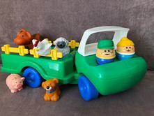Farma traktor zvířata auto little tikes plast 12+,