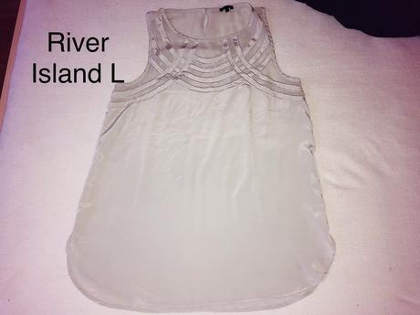 Tílko l, river island,l