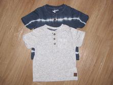 Duopack fešáckých triček, packv, f&f,80