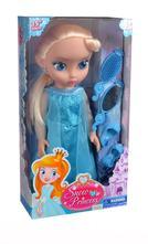 Panenka zimní království princezna blond 38 cm,