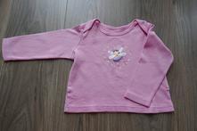 Bavlněné triko dlouhý rukáv, f&f,86