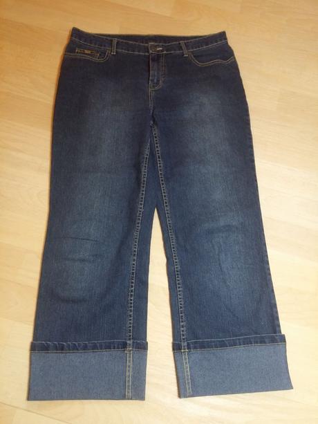 Kalhoty džíny tříčtvrteční , colours of the world,40