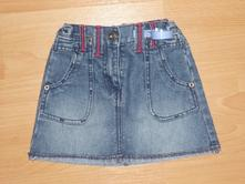 Riflová sukně, c&a,104
