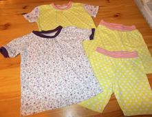 Dvě  bavlněná kvalitní pyžama, 86